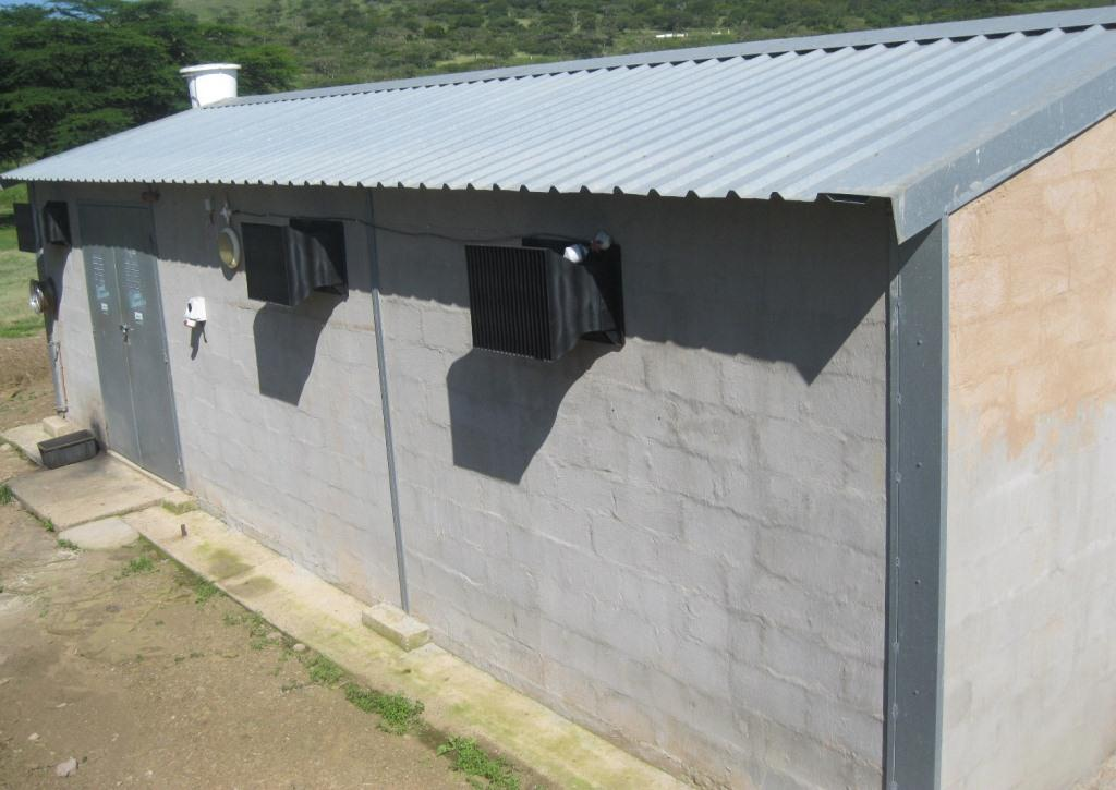 Ventilation For Chickens : The new ventilation system for kznpi pullet rearing house