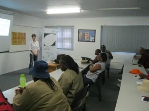 KZNPI Janet adressing the farmers